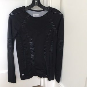 Athleta black long sleeve